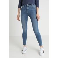 Topshop JAMIE NEW Jeansy Skinny Fit blue TP721N03K