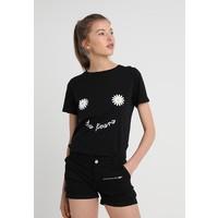 New Look DAISY DES FLEURS TEE T-shirt z nadrukiem black NL021D0DU