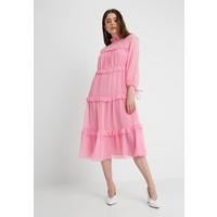 Topshop DOBBY MIDAXI Sukienka letnia baby pink TP721C0WA