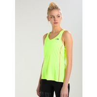 The North Face AMBITION TANK Koszulka sportowa dayglow yellow TH341D01T
