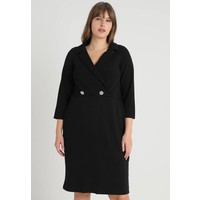 Dorothy Perkins Curve EXCLUSIVE TUX DRESS Sukienka etui black DP621C09U