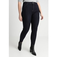 River Island Plus Jeansy Skinny Fit dark auth RIE21N00D