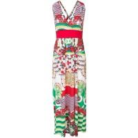 Smash CAICARA - Długa sukienka - czerwony SM421C02J-G11