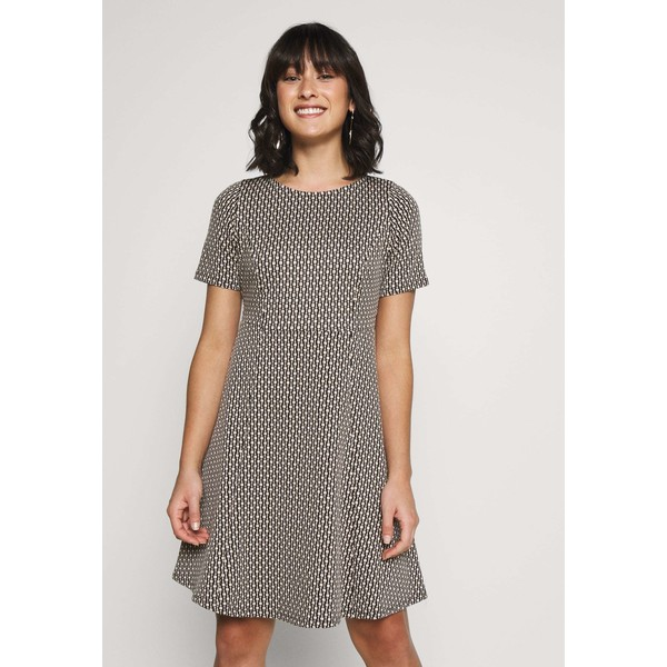 Wallis Petite CHAIN JACQUARD DRESS Sukienka letnia stone WP021C071