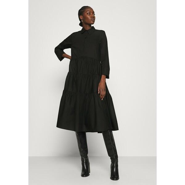 ARKET Sukienka koszulowa black ARU21C012