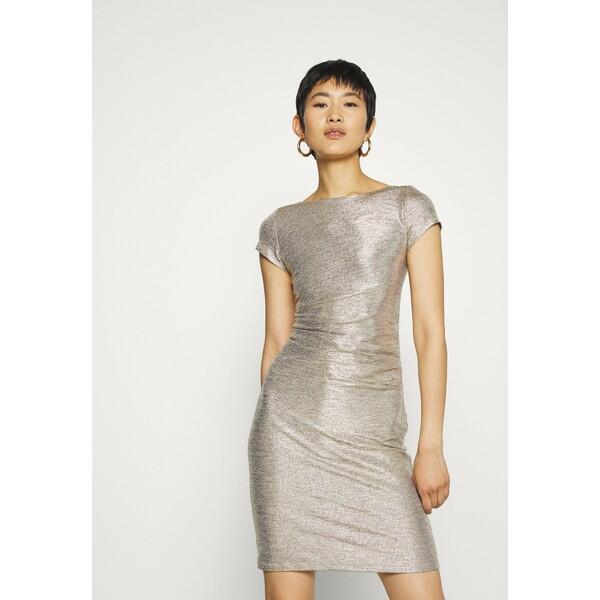 Swing Sukienka koktajlowa gold SG721C0EX