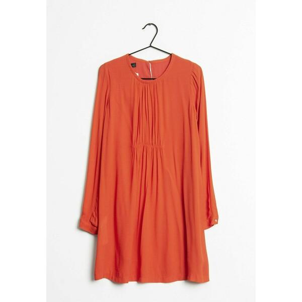 Mango Sukienka letnia orange ZIR0064P1
