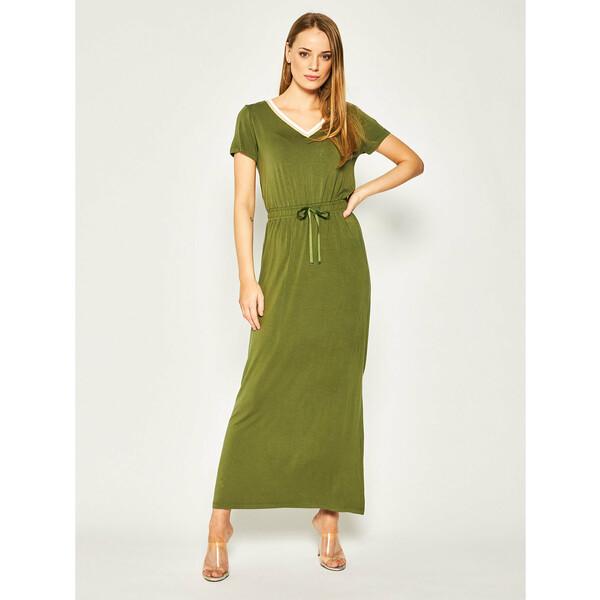 Liu Jo Sport Sukienka codzienna TA0201 J6998 Zielony Loose Fit