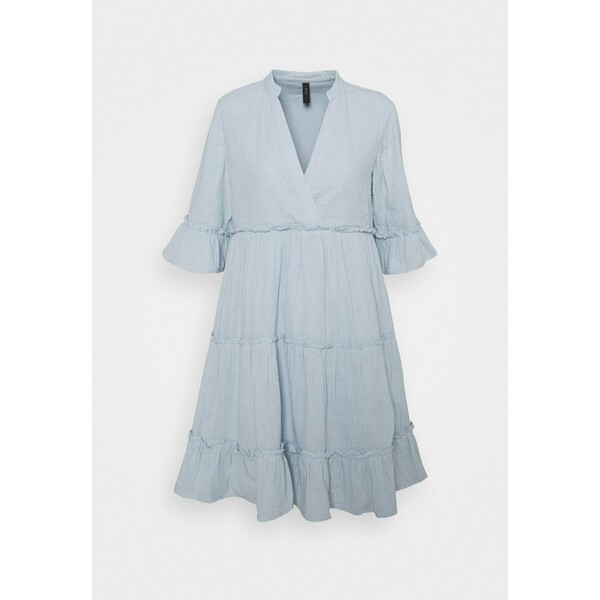 YASLIMA SHORT DRESS ICON Sukienka letnia cashmere blue Y0121C1I5