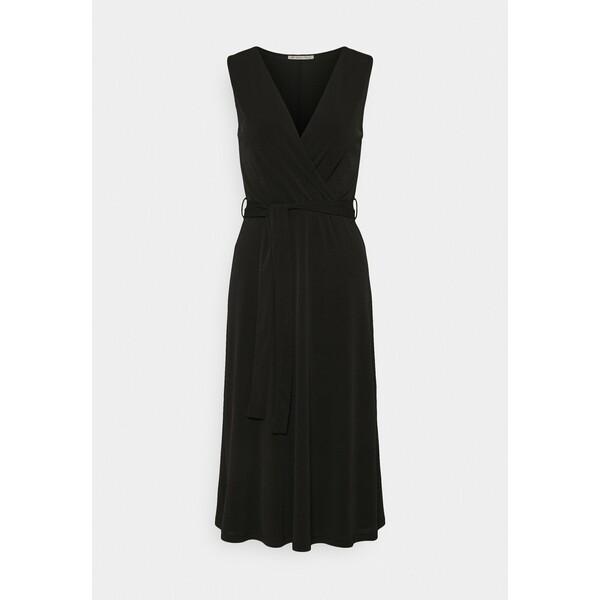 Anna Field Sukienka z dżerseju black AN621C1NI
