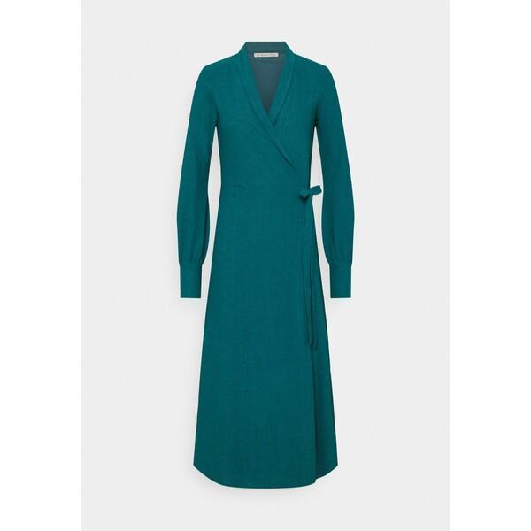 Anna Field Długa sukienka dark green AN621C1NJ