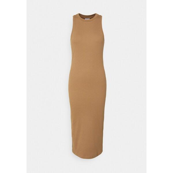 Vero Moda VMLAVENDER DRESS Długa sukienka tigers eye VE121C28D