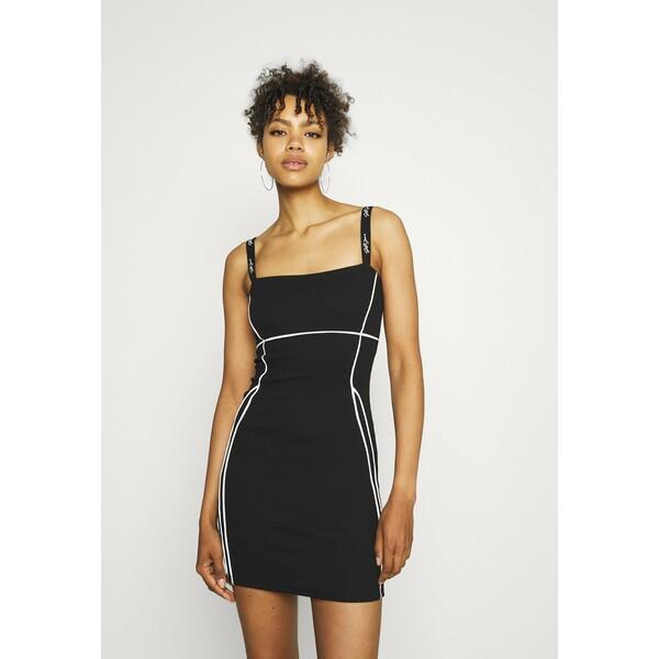 Sixth June SEXY LINES DRESS Sukienka letnia black SIB21C00P