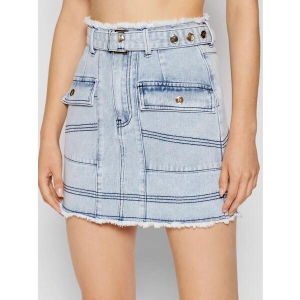IXIAH Spódnica jeansowa X211-60151 Niebieski Regular Fit