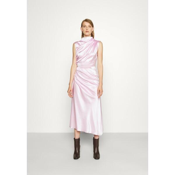 Materiel ALL DRAPES DRESS Sukienka koktajlowa violet MDH21C00C