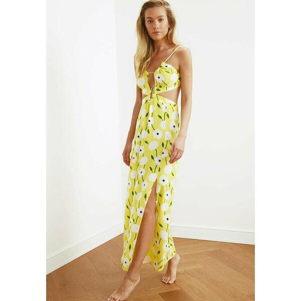 Trendyol Sukienka letnia yellow TRU21C0JH