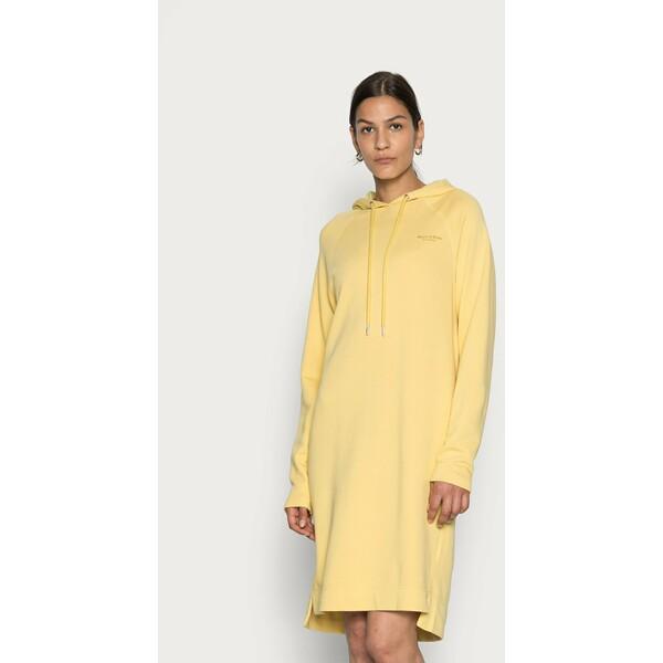 Marc O'Polo Sukienka letnia dusty lemon MA321C0Q9