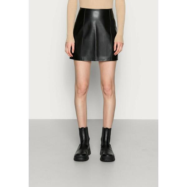 Calvin Klein Jeans SKIRT Spódnica mini black C1821B04E