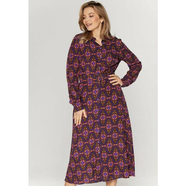 Bialcon Sukienka koszulowa wielokolorowy B0H21C026