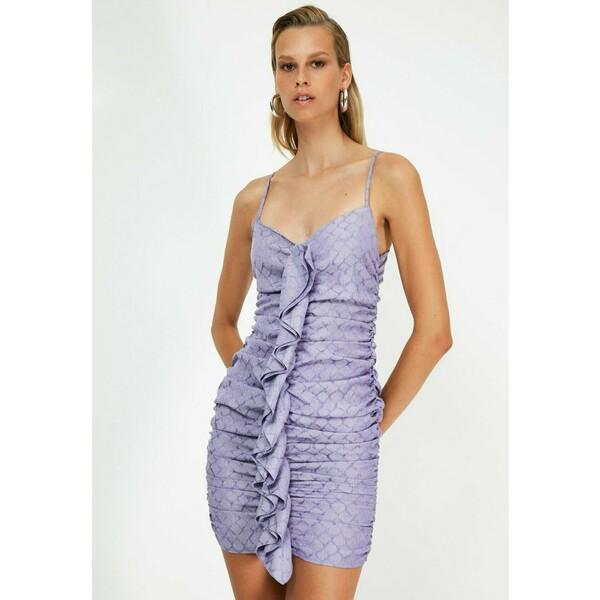 Trendyol Sukienka etui purple TRU21C0L8
