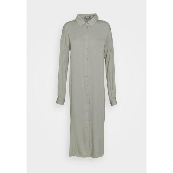 Missguided Tall UTILITY DRESS Sukienka koszulowa khaki MIG21C07F