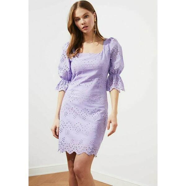 Trendyol Sukienka letnia purple TRU21C0JN