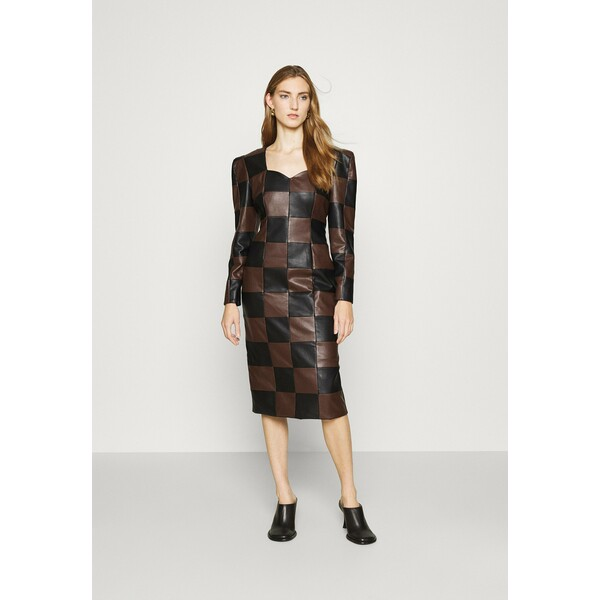 ABODI CADMAEL DRESS Sukienka koktajlowa black ABI21C001
