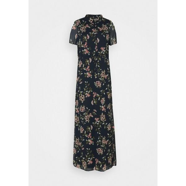 Vero Moda Tall VMKAY ANKLE SHIRT DRESS Sukienka koszulowa navy blazer VEB21C08J