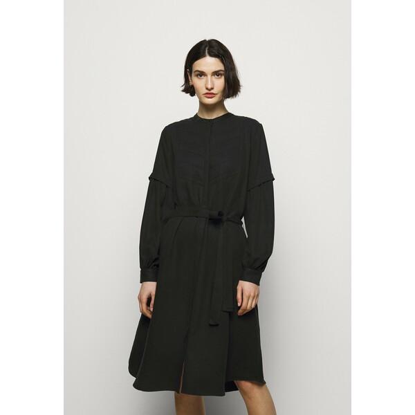 Bruuns Bazaar PRALENZA ALIZA DRESS Sukienka koszulowa black BR321C06X