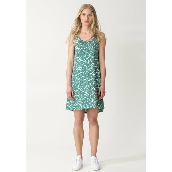 Indiska BOBOLINA Sukienka z dżerseju green INO21C06C
