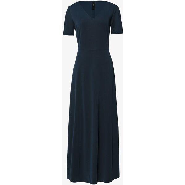 YAS NANCY ANKLE DRESS Długa sukienka navy Y0121C14L
