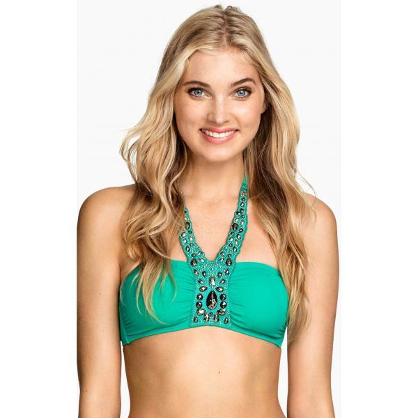H&M Góra od kostiumu 0168428008 Zielony