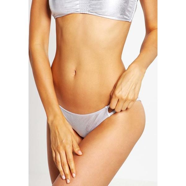 Billabong BIARRITZ Dół od bikini metallic silver BI781D00F