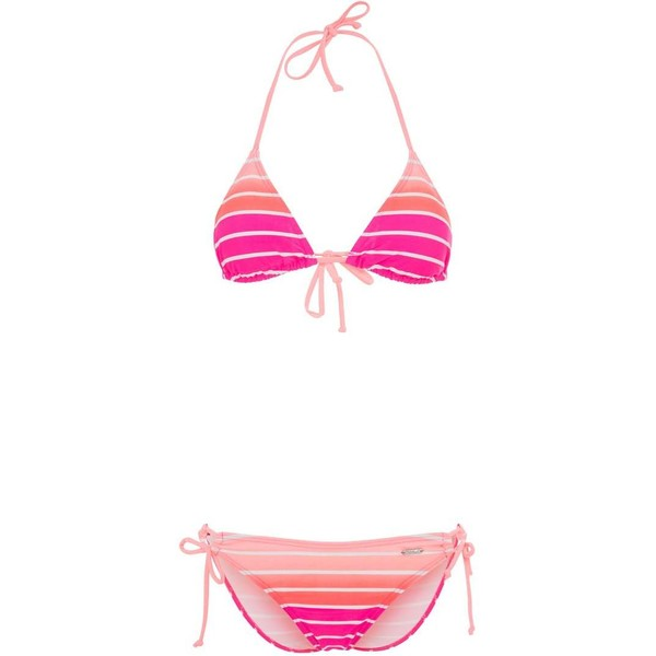 Venice Beach Bikini pink striped 2VE41H007