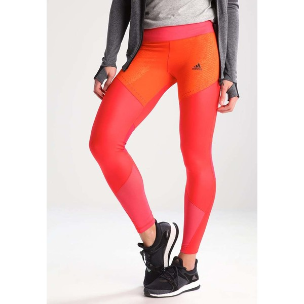 adidas Performance Legginsy core red/core pink AD541E0H9