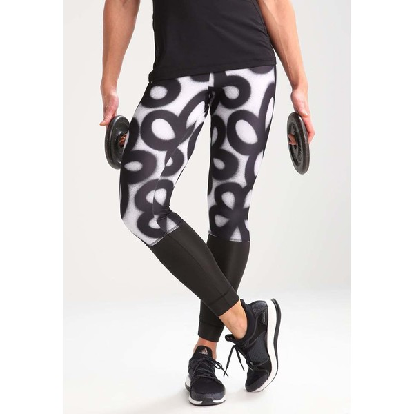 adidas Performance Legginsy black/white AD541E0I1