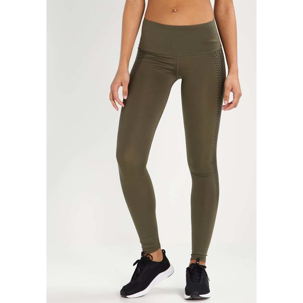 Puma EVERYDAY TRAIN Legginsy olive night PU141E06B