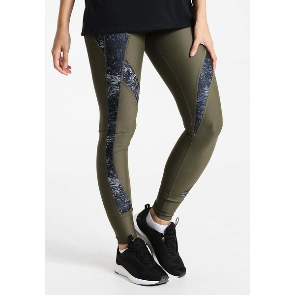 Puma EXPLOSIVE Legginsy olive night/nature PU141E067