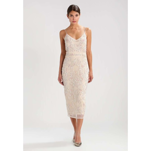 Lace & Beads FIONA Sukienka koktajlowa cream LS721C03K