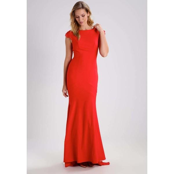 Jarlo JULIETTE Długa sukienka red J3121C02F