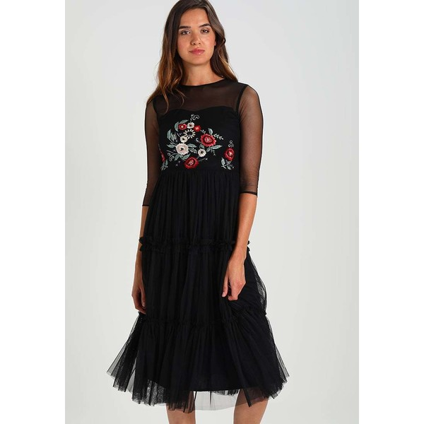 Lace & Beads Tall ELIYAH Sukienka letnia black LAD21C00M