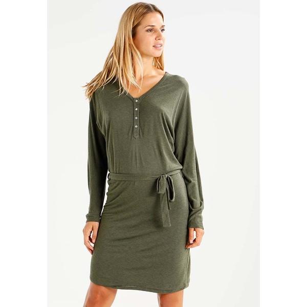 Uno Piu Uno BILLIA Sukienka z dżerseju dark green U0321C008