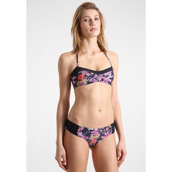 O'Neill PRINT BANDEAU SET Bikini black/pink ON581L00B