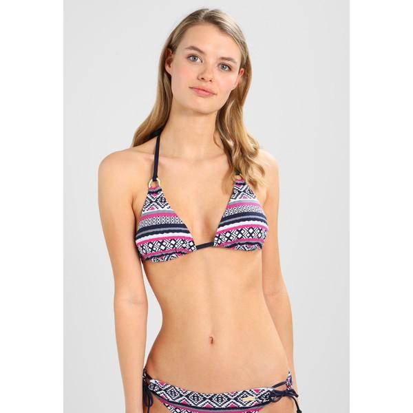 LASCANA TRIANGEL Góra od bikini navy/pink L8381J00Q