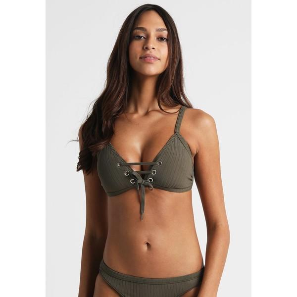 Seafolly INKA Góra od bikini dark olive S1981J00J