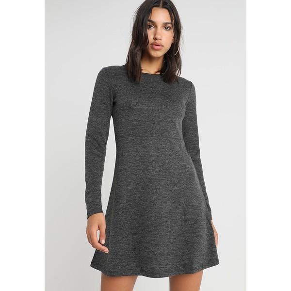 34369a79b5 Pieces PCWONDER Sukienka z dżerseju dark grey melange PE321C07Q ...