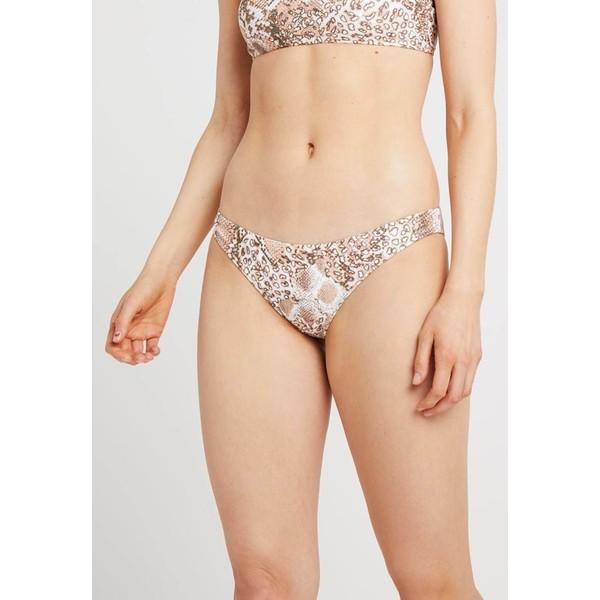 Topshop SNAKE LEG PANT Dół od bikini nude TP781I01B
