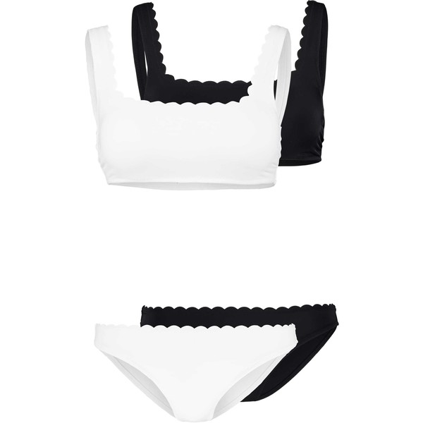 mint&berry SET 2 PACK Bikini white/black M3281L00I